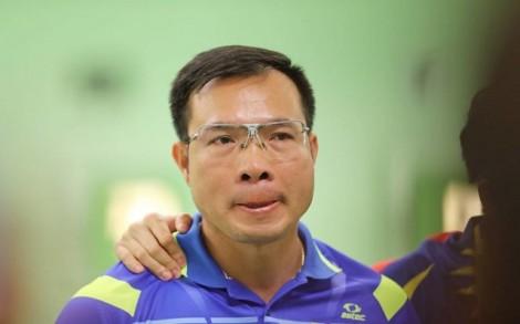 Nhà vô địch Olympic Xuân Vinh rời SEA Games 29 không HCV