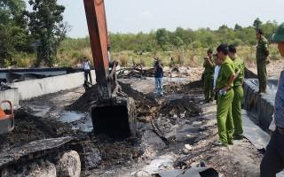 Người dân xã Hoà Hội phản ánh tình trạng ô nhiễm môi trường