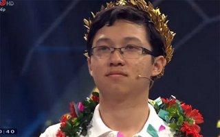 """""""Cậu bé Google"""" Nhật Minh vô địch Đường lên đỉnh Olympia 2017"""