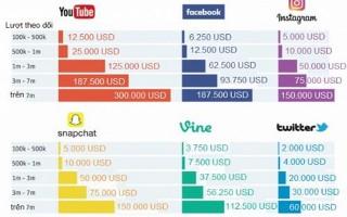 Sao kiếm bạc tỷ nhờ 'viết tút' trên Facebook, Youtube