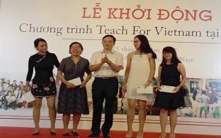 Khởi động Chương trình Teach For Vietnam tại Tây Ninh