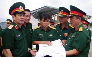 Tổng Tham mưu trưởng QĐND Việt Nam kiểm tra công tác tại Sư đoàn 5