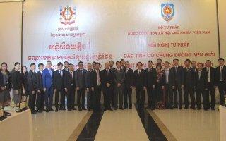 Hội nghị Tư pháp các tỉnh có chung đường biên giới Việt Nam – Campuchia