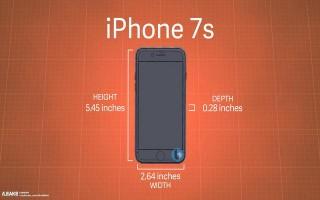 iPhone 7s và 7s Plus rò rỉ kích thước, thiết kế thủy tinh và sạc không dây