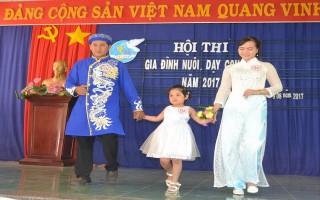"""Hội thi """"Gia đình nuôi, dạy con tốt"""" huyện Dương Minh Châu"""