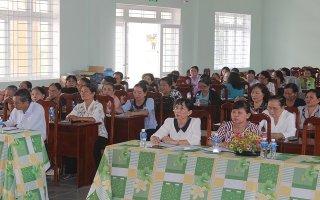 Phụ nữ Hoà Thành: Tổ chức hội nghị giao lưu, học tập kinh nghiệm