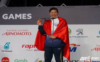 Hơn Singapore đúng 1 HCV, Việt Nam xếp thứ 3 SEA Games 29