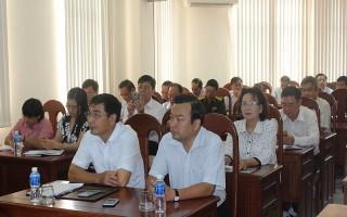 Hội nghị báo cáo viên tháng 8.2017