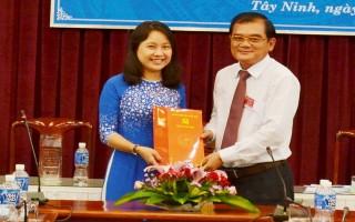Bổ nhiệm thành viên Hội đồng thành viên Công ty TNHH MTV Sản xuất- Thương mại- Du lịch Tây Ninh