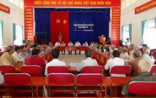 Lãnh đạo xã Bình Minh đối thoại với công dân