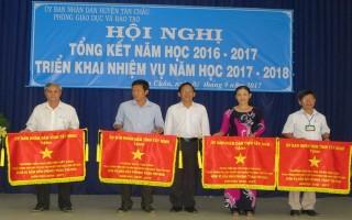 Huyện Tân Châu tổng kết năm học 2016-2017