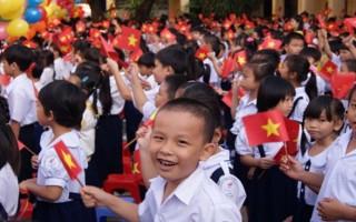 Hôm nay 5.9, học sinh cả nước tưng bừng khai giảng năm học mới