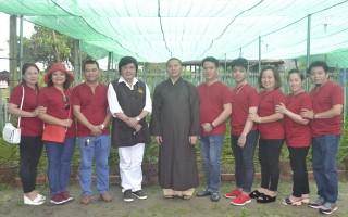 Vườn lan mới ở chùa Gò Kén
