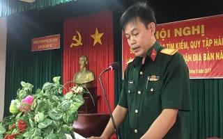 Thành phố Tây Ninh sơ kết công tác tìm kiếm, quy tập hài cốt liệt sĩ