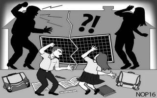 Đánh phụ nữ, chánh tòa hình sự bị phạt 2,5 triệu đồng