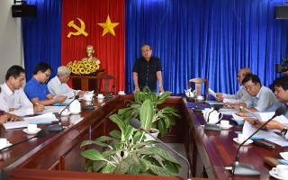UB.MTTQVN tỉnh: Sơ kết phối hợp công tác với các tổ chức chính trị xã hội