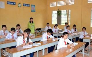 Tân Biên: Sáp nhập 2 điểm trường THCS ở xã Thạnh Tây