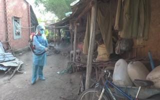 Bến Cầu: Chủ động phun hóa chất diệt muỗi phòng chống bệnh sốt xuất huyết