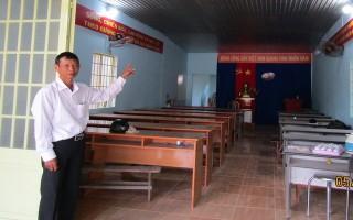 XÃ THANH ĐIỀN: Người dân góp tiền tu bổ văn phòng ấp