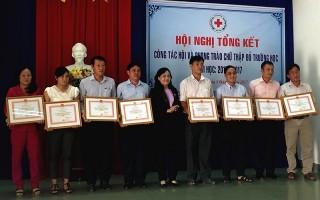 Tổng kết công tác Hội và phong trào Chữ thập đỏ trường học năm học 2016-2017