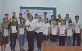 Hội Doanh nhân trẻ Tây Ninh bế giảng khóa đào tạo Kế toán căn bản