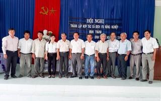 Thành lập HTX dịch vụ nông nghiệp Minh Thành