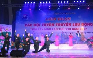 Khai mạc liên hoan Các đội tuyên truyền lưu động tỉnh Tây Ninh