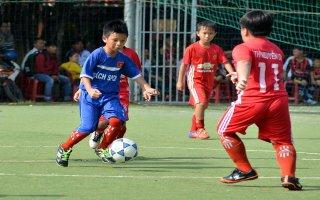 Giải bóng đá khối tiểu học Hội khoẻ Phù Ðổng TP. Tây Ninh năm học 2017 - 2018