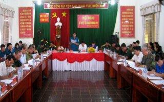 Xã Thạnh Tây: Xét duyệt tiêu chuẩn nghĩa vụ quân sự năm 2018