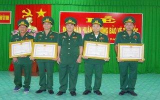 Biên phòng Tây Ninh: Trao Huân chương bảo vệ tổ quốc cho các cá nhân