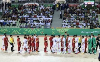 Futsal VN đè bẹp Hong Kong 8-0