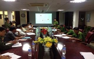 Bến Cầu: Triển khai phương án PCCC&CNCH tại Công ty cổ phần Việt Nam Mộc Bài