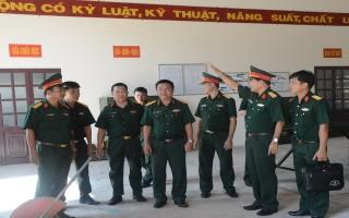 Tổng cục Kỹ thuật Bộ Quốc phòng kiểm tra tại Sư đoàn 5