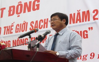 Tây Ninh: Phát động chiến dịch làm cho thế giới sạch hơn