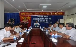 Công bố nội dung kỳ họp thứ 5 HĐND tỉnh khoá IX