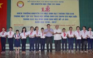 Khen thưởng học sinh đạt thành tích cao trong học tập