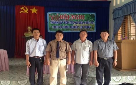Ra mắt HTX Sản xuất và dịch vụ nông nghiệp Lợi Thuận