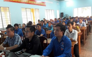 Châu Thành: Tập huấn và tư vấn, hỗ trợ thanh niên khởi nghiệp