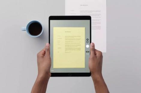 Cách dùng tính năng quét tài liệu trong iOS 11
