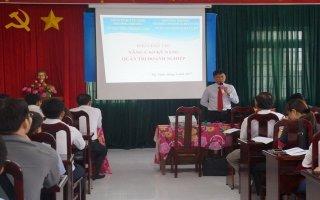 Tây Ninh: Mở khoá đào tạo Quản trị doanh nghiệp cho doanh nghiệp vừa và nhỏ