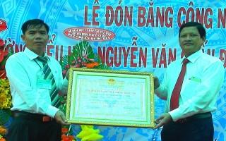 Thêm 2 trường được công nhận đạt chuẩn quốc gia