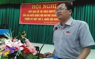 ĐBQH Huỳnh Thanh Phương tiếp xúc chuyên đề với cử tri