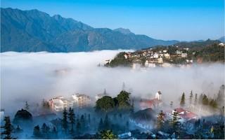 Sa Pa nằm trong top 10 điểm đến hấp dẫn nhất Việt Nam