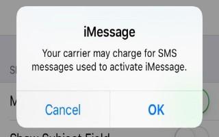 Phòng ngừa mất tiền oan với tin nhắn kích hoạt iMessage và FaceTime