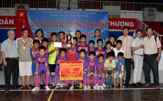 Hải An vững ngôi vô địch