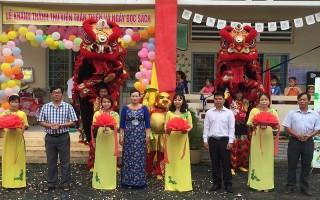 Khánh thành Thư viện thân thiện Trường Tiểu học Hiệp Tân