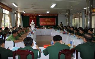 Giao ban lực lượng Công an- Biên phòng- Quân sự