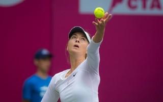Sharapova đoạt danh hiệu đầu tiên sau án cấm thi đấu