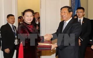 Hợp tác Quốc hội là nền tảng phát triển quan hệ Việt Nam - Trung Quốc