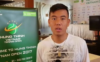 Hoàng Nam gặp khó ở giải Vietnam Open 2017